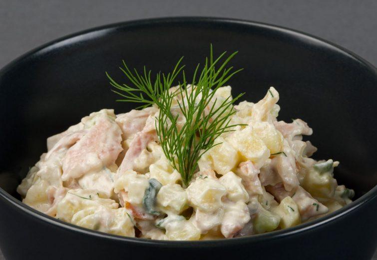 Vistas gaļas salāti