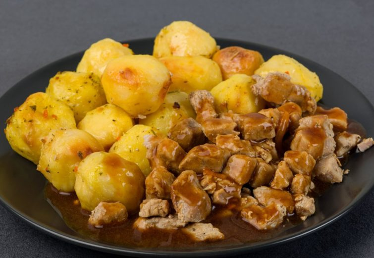 Ceptas kartupeļu bumbiņas